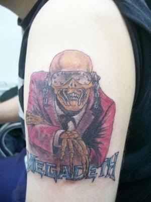 My Kansas On The Road Tatuagens Em Homenagem A Bandas E Cantores