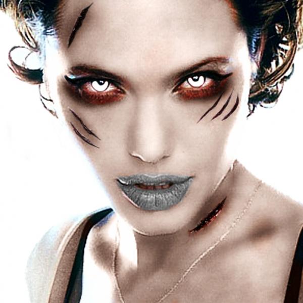 easy girl zombie makeup - photo #38