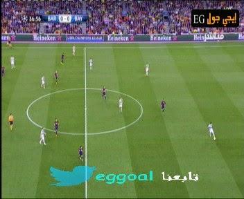 ملخص الشوط الاول || مباراة برشلونة و بايرن ميونخ ||التعادل السلبى .barcelona-vs-bayern