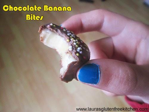 Gluten Free Chocolate Banana Bites