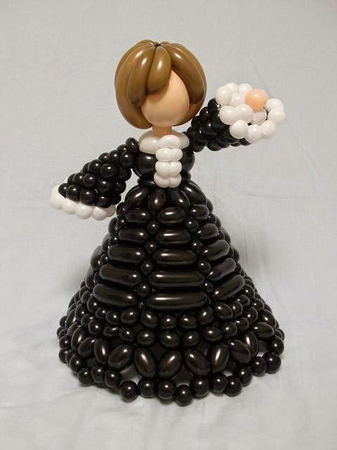 boneka lucu dari balon