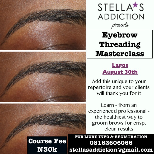 Eyebrow Threading Masterclass