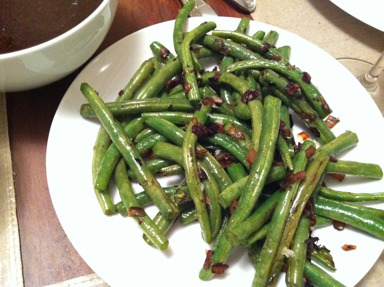 Green Beans With Crisp Shallots Recipes — Dishmaps