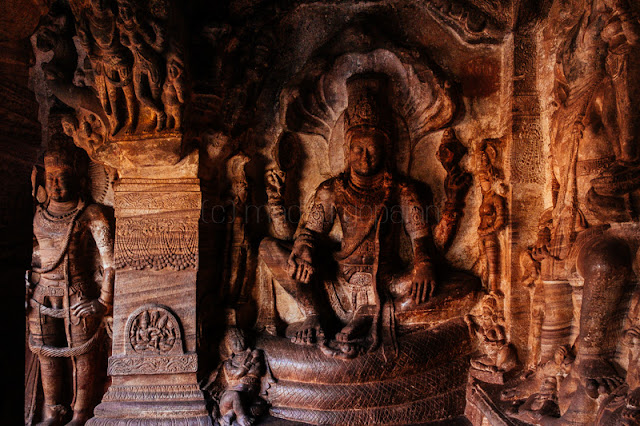Cave dedicated to Vishnu, Badami
