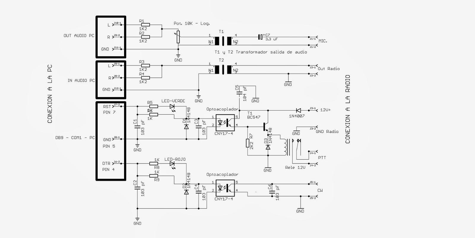 lu5hjf   interfase para transceptor icom ic