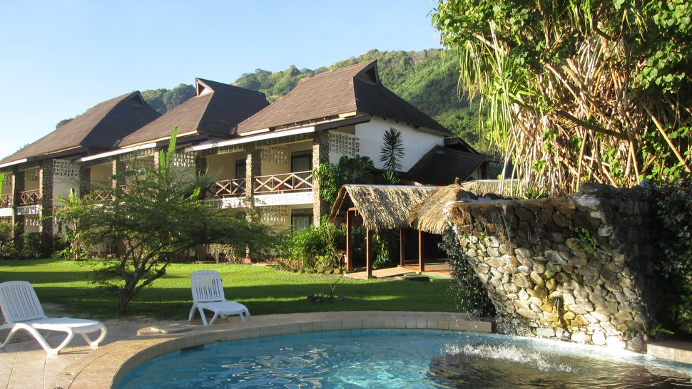 Chambres avec vue sur la baie au Club Bali Hai Moorea