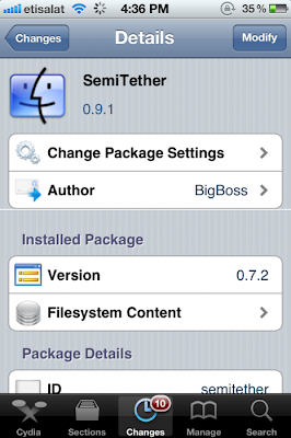 Boot Semi Tether iOS 5.0.1 BigBoss