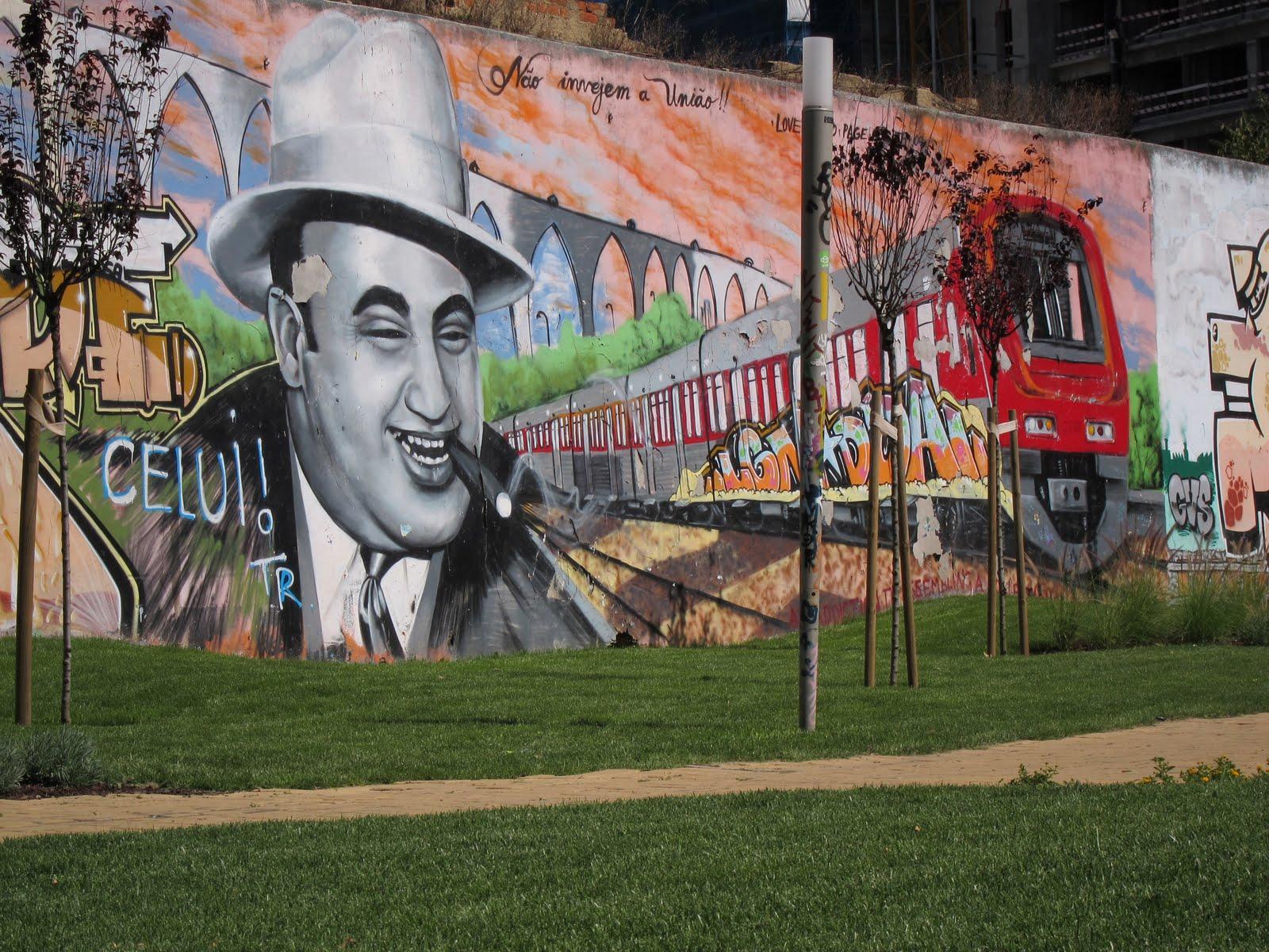 Artesãos Lisboa ~ Objectiva 3 Excelente arte urbana em Lisboa
