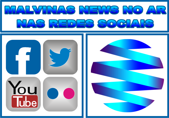MALVINAS NEWS NO AR NAS REDES SOCIAIS