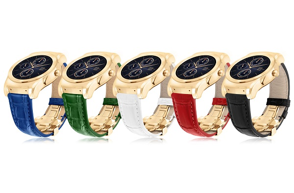 LG announces Watch Urbane Luxe limited edition Android Wear smartwatch with 23-karat gold