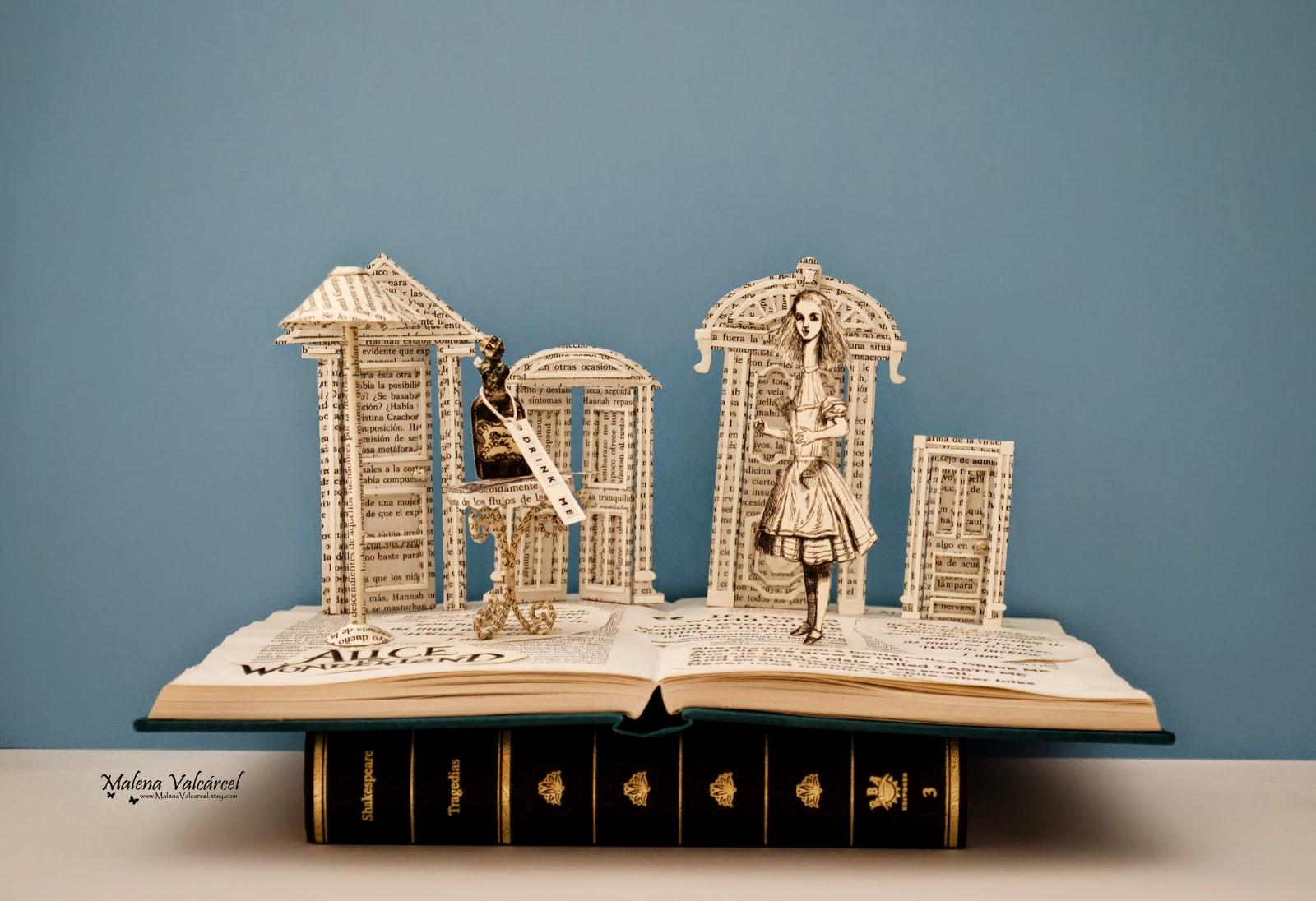 alicia-en-el-pais-de-las-maravillas-arte-con-libros