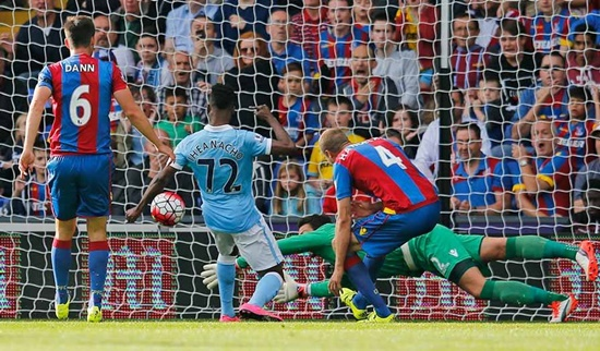 Crystal Palace 0 x 1 Manchester City - Premier League 2015/16