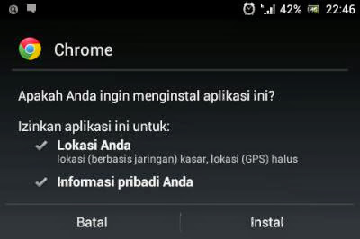 google chrome browser for android terbaru