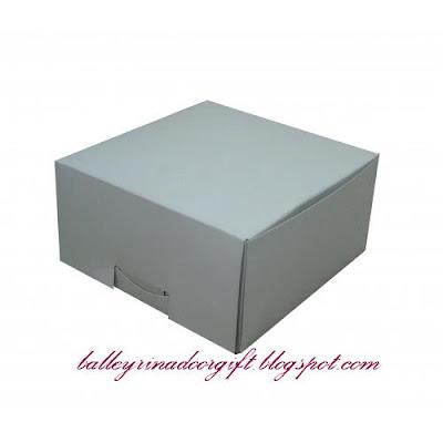 Balleyrina Doorgift & Craft Zone: WHITE BOXES