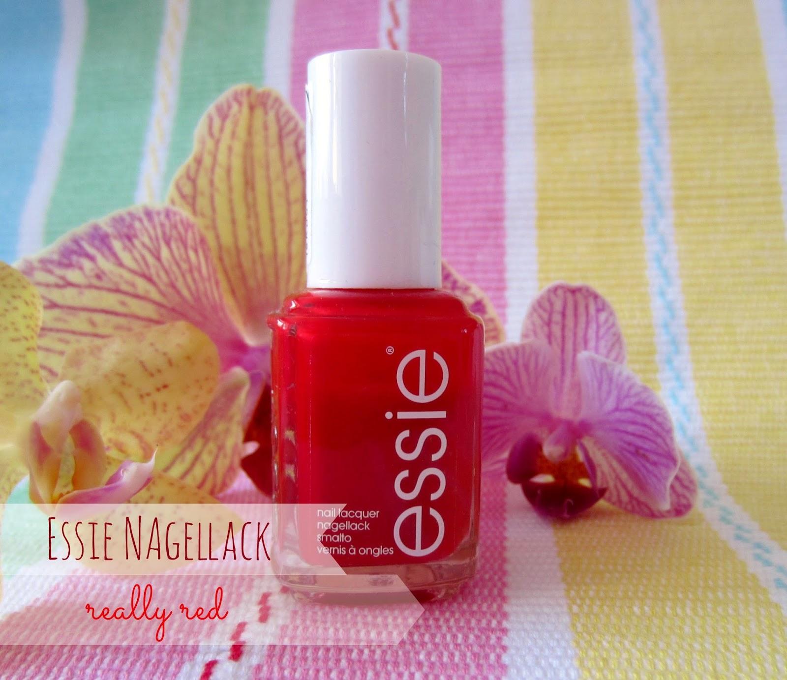 Zauberschwalbe bloggt...: Mein liebstes Rot ✿ Essie ✿ Really Red