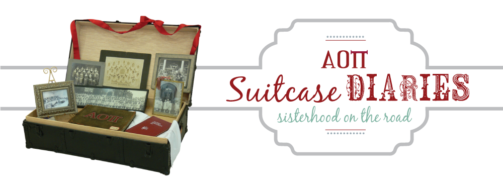 AOII Suitcase Diaries...Sisterhood on the Road