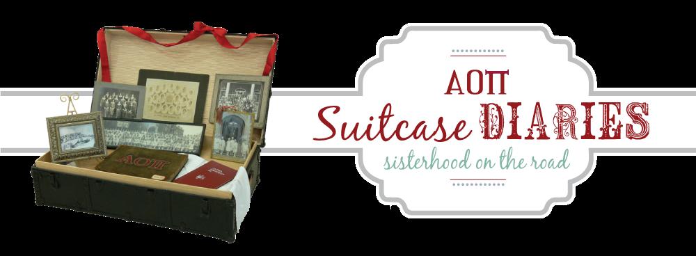 AOII Suitcase Diaries...Sisterhood on the Road