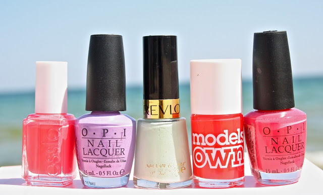 My Favorite Summer Nail Polishes