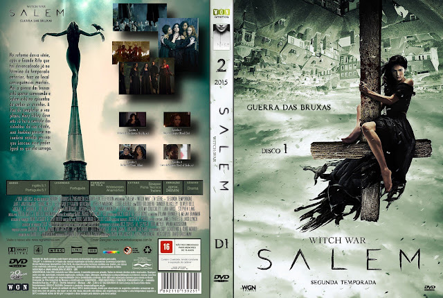 Capa DVD Salem Witch War 2ª Temporada