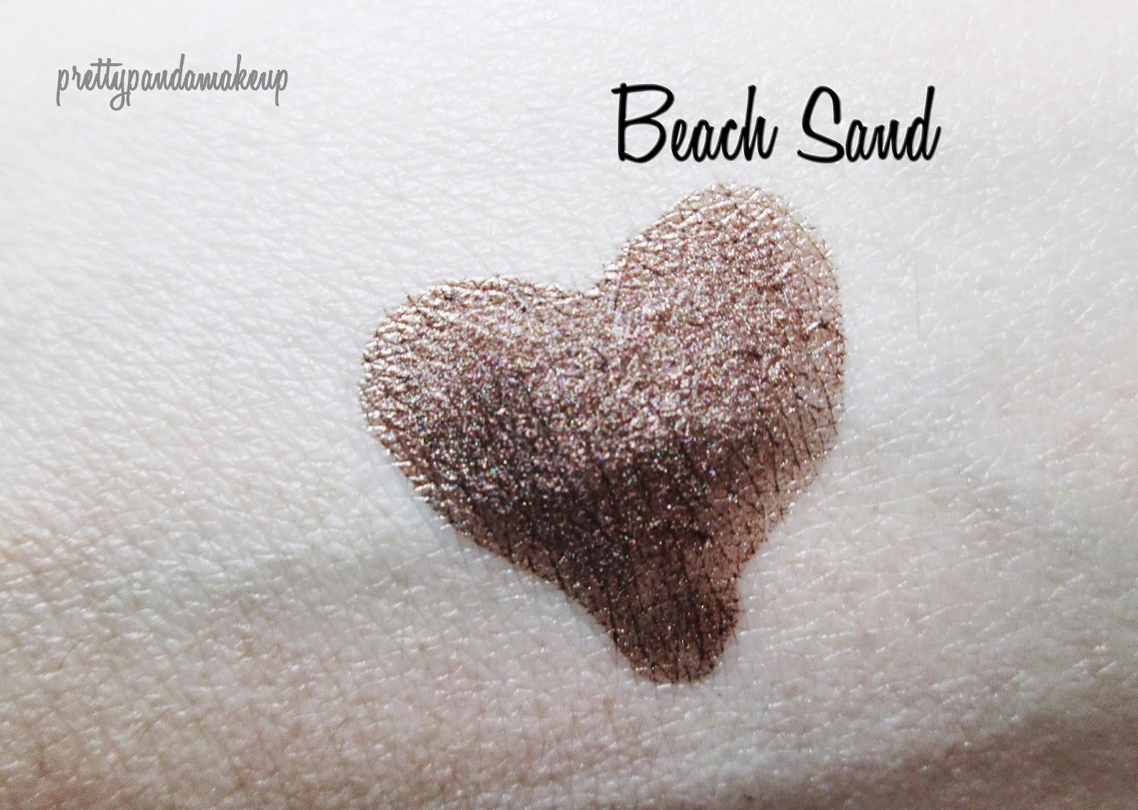 Josie Maran Coconut Watercolor eyeshadow in Beach Sand