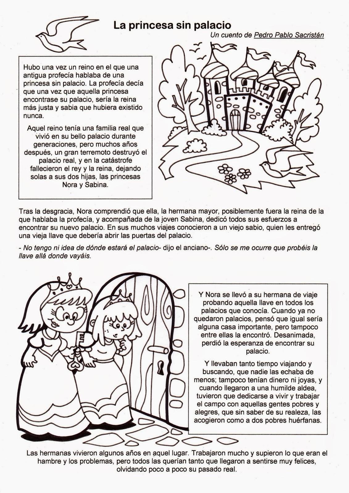 El Rincón de las Melli: Cuento: La princesa sin palacio