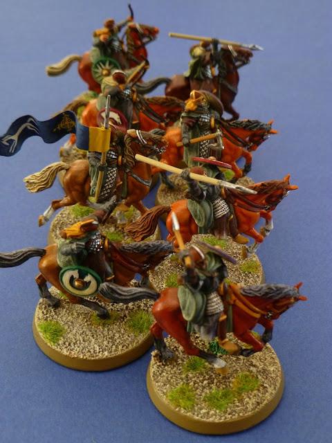 L'Eored  au complet (huit cavaliers) 2