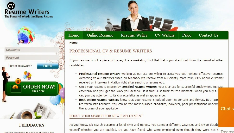 Professional resume writing service - CVResumeWriters.com