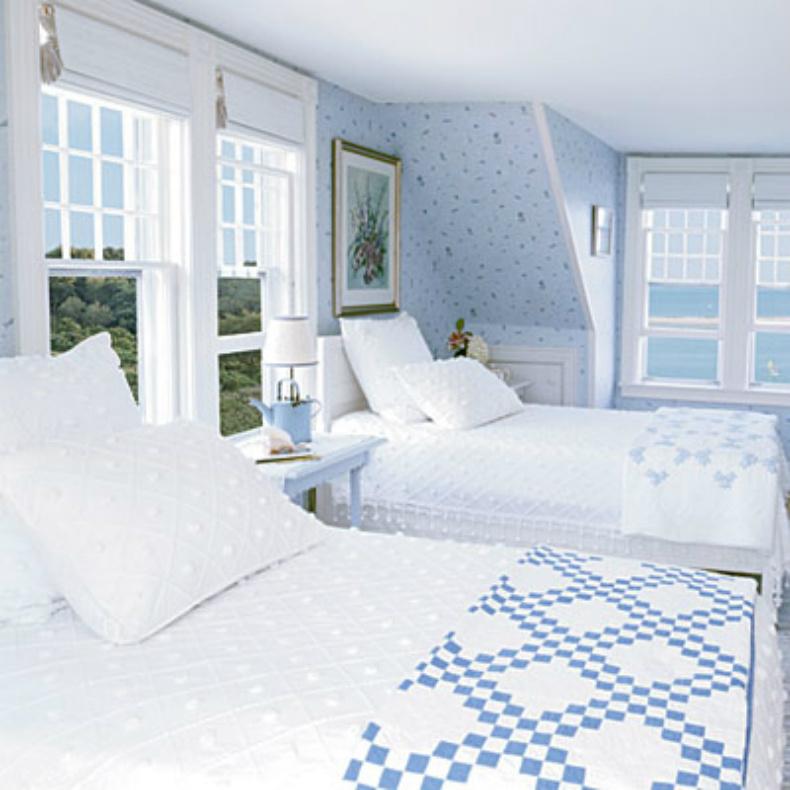 Coastal home inspirations on the horizon coastal bedrooms for Coastal bedroom decor