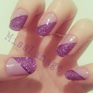 31-day-challenge-purple-manicure