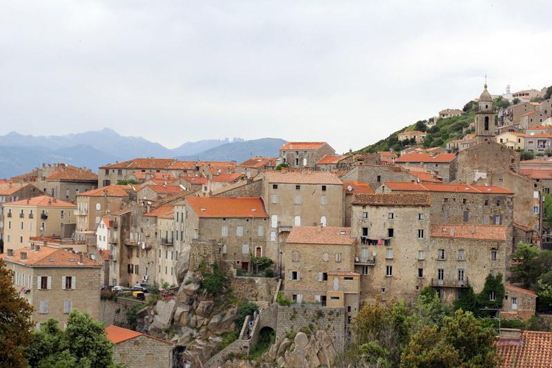 Sartène Corse Village Vue