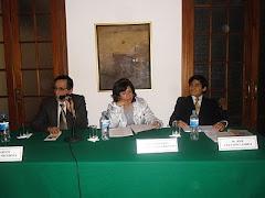 En el conversatorio de César Vallejo en el IPCNA de Miraflores