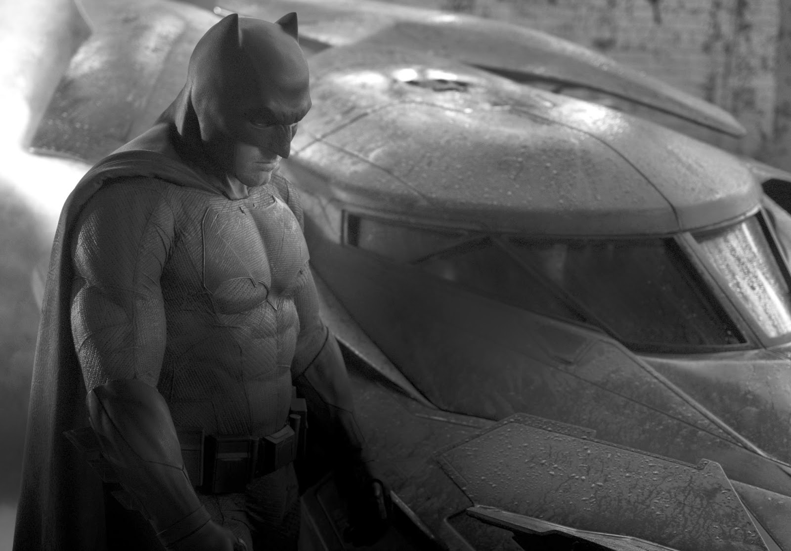 Ben Affleck's Batman: First Look
