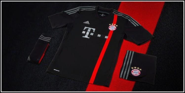 Jersey New Official Bayern Munchen Third (3rd)14-15