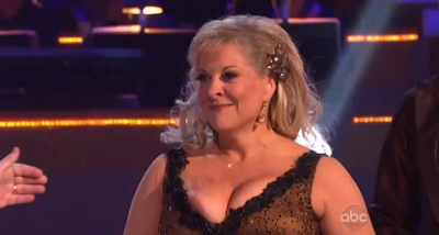 dancing with the stars boob pops out