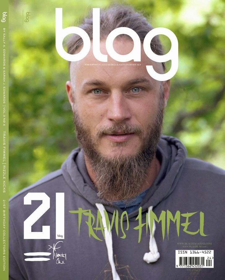 Fashion For Men Ex Calvin Klein Model Now Vikings Actor Travis