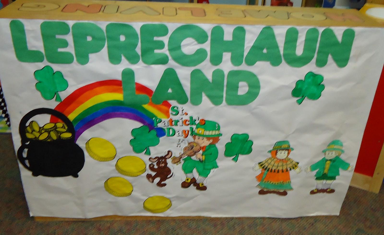Leprechaun Classroom Visit Ideas ~ Little illuminations st patrick s day bulletin boards