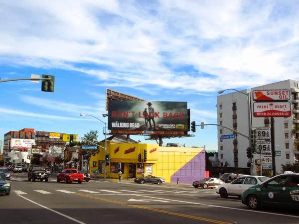Walking Dead midseason 4 billboard
