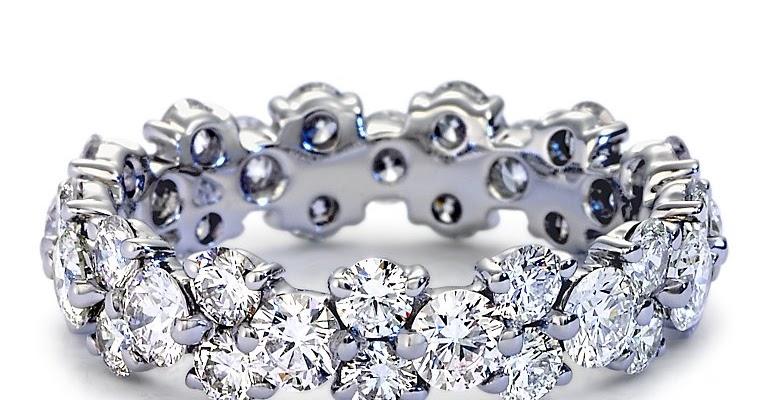9mm Tungsten Carbide Wedding Bands 96 Perfect Garland Diamond Eternity Ring