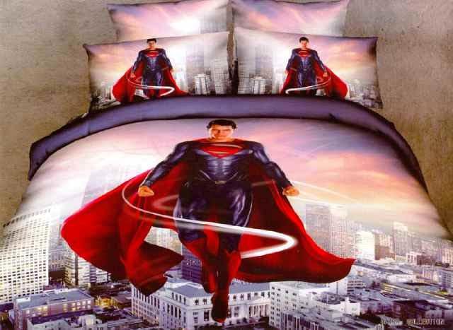 Sprei Anak Motif Superman