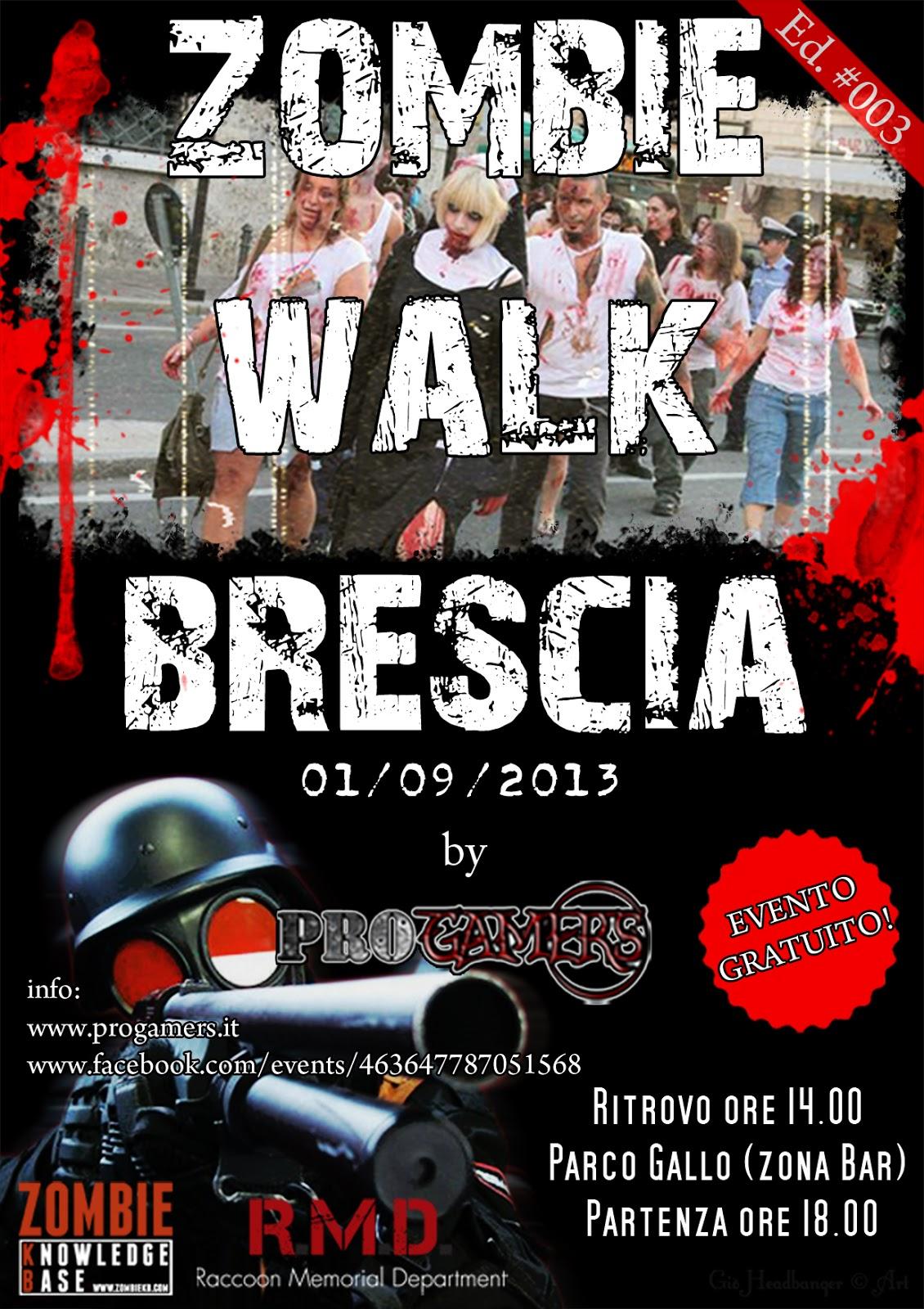 Zombie Walk Brescia: 01 Settembre 2013