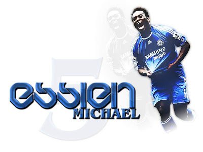 UEFA Champions League - Michael Essien