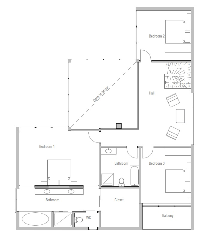 Australian house plans australian home plan ch168 for House plans australia