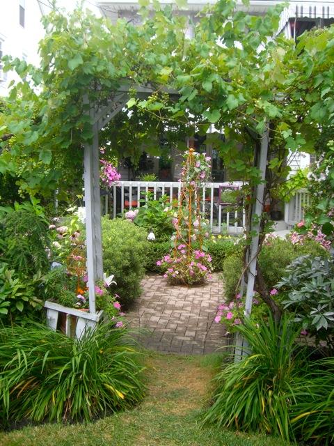 Banco de imagenes 40 ideas sobre decoraci n exterior en - Decoracion exterior jardin ...