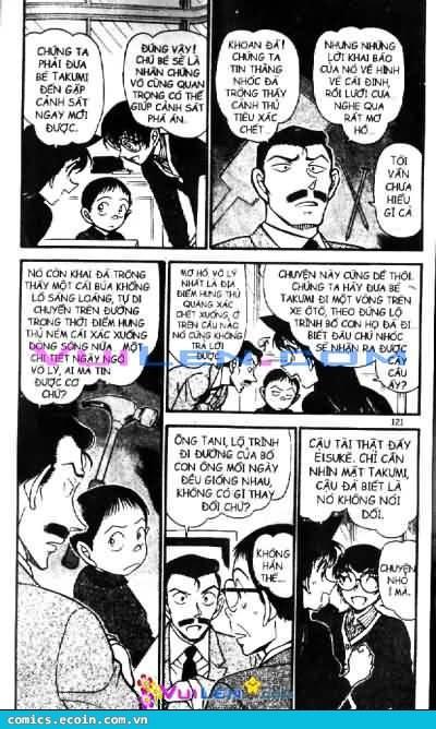 Detective Conan - Thám Tử Lừng Danh Conan chap 551 page 3 - IZTruyenTranh.com
