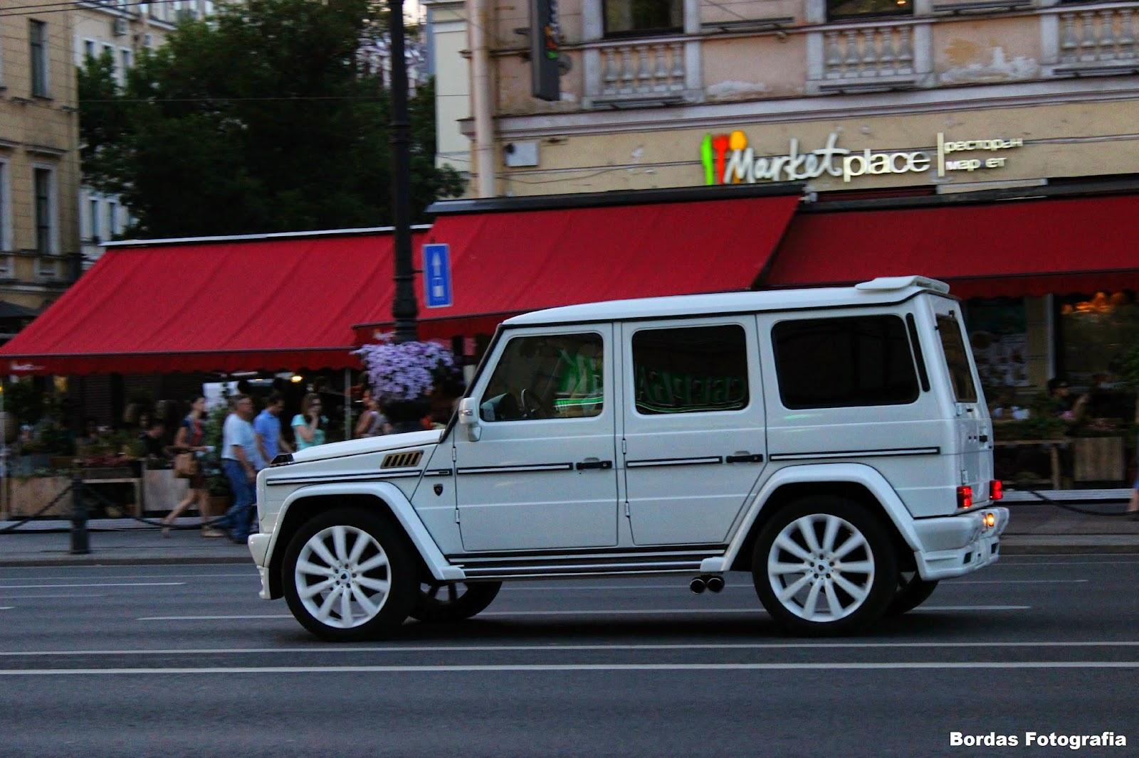 Bordas fotograf a mercedes benz hamann g hm600 st for Mercedes benz st petersburg