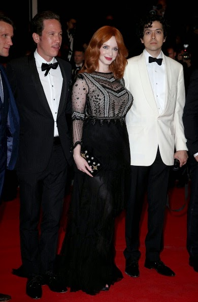 Christina Hendricks Carries Thalé Blanc Again