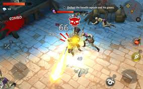 Dungeon Hunter 5 v1.2.0n MOD Apk + Data Android