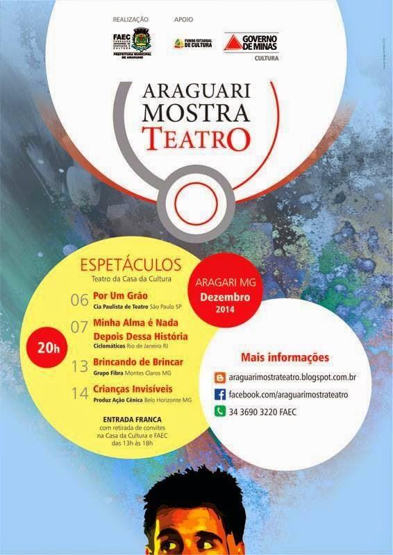 """Crianças Invisíveis no """"Araguari Mostra Teatro"""""""