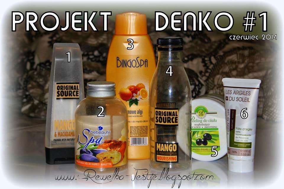 Mój pierwszy Projekt Denko #1