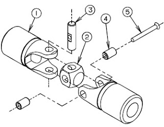 Universal Joint Components - by Lovejoy, Inc.